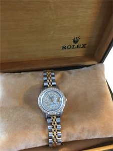 Rolex Ladies Rolex Datejust 2-Tone Diamond watch