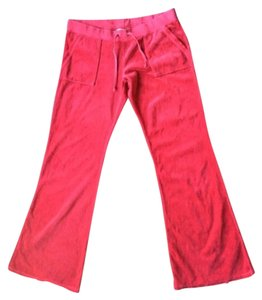 Juicy Couture Boot Cut Pants Red