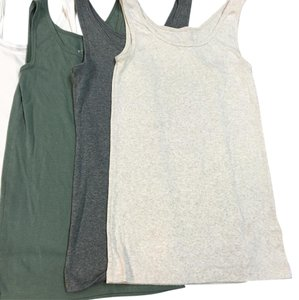 Mossimo Supply Co. Top Grey, Green, Oatmeal, 3 White