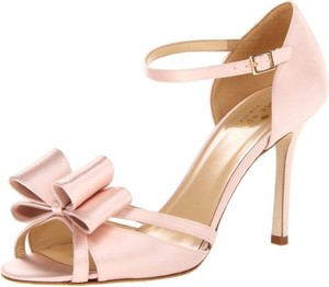 Kate Spade Pink Bow Elegant Blush Formal Size Us 7 Regular M B