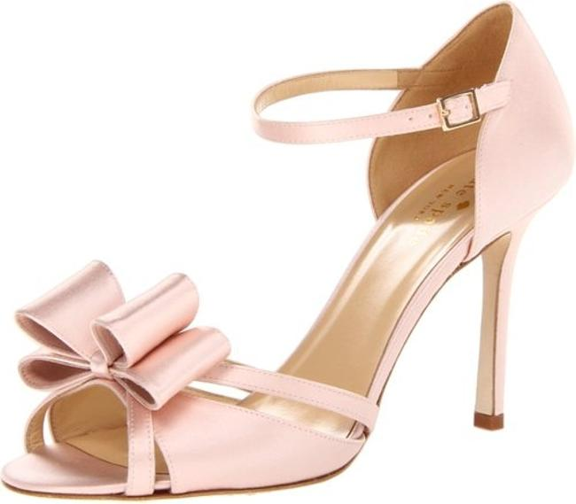 Item - Pink Bow Elegant Blush Formal Size US 7 Regular (M, B)