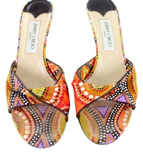 Jimmy Choo Multi-Color Sandals