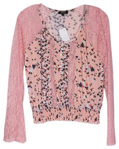 DEB Small Peasent Lace Top Multi-Color