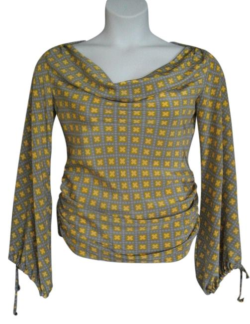 Preload https://img-static.tradesy.com/item/1483352/gold-and-gray-blouse-size-8-m-0-0-650-650.jpg