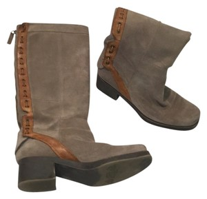 Nine West Gray and brown Boots