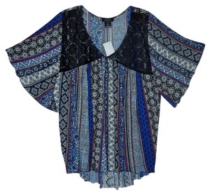 DEB Small Batwing Bat Wing Top Multi