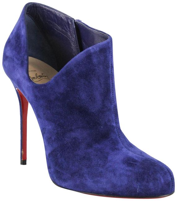 Item - Blue Lisse Suede Boots/Booties Size EU 40.5 (Approx. US 10.5) Regular (M, B)