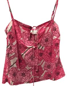 Trina Turk Top pink and white