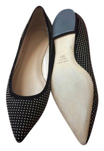 Club Monaco Black and Gold Flats