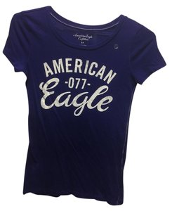 American Eagle Outfitters T Shirt Sapphire blue