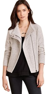 Anthropologie Wool Grey Cozy Light Gray Jacket