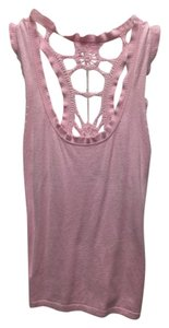 & Other Stories Crochet Top Pink