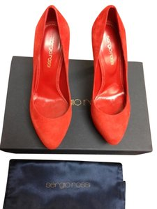 Sergio Rossi Red Pumps