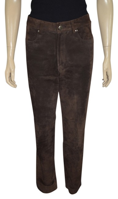 Preload https://img-static.tradesy.com/item/1483541/searle-brown-genuine-suede-made-in-usa-pants-size-6-s-28-0-0-650-650.jpg