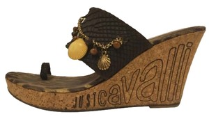 Just Cavalli Brown Wedges