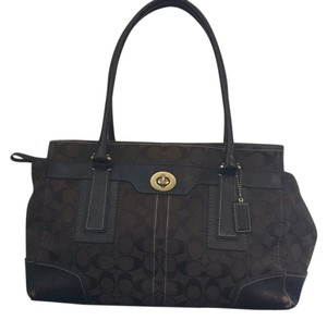 Coach Tote in Chocolate
