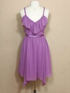 Alfred Angelo Royal Bloom Chiffon 7222 Formal Bridesmaid/Mob Dress Size 6 (S)