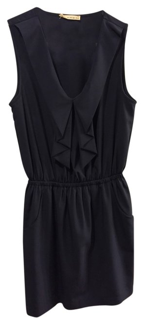 Xtaren short dress Navy Blue on Tradesy