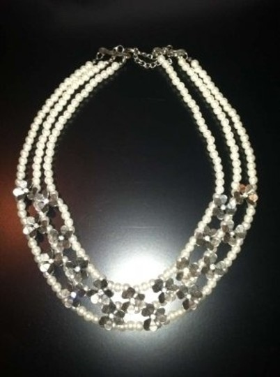 Maurices **Beautiful Faux Pearl and Flower Necklace**