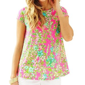Lilly Pulitzer T Shirt Flamingo Pink