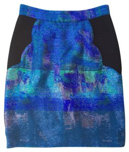 Proenza Schouler Skirt Black, Blue, Green