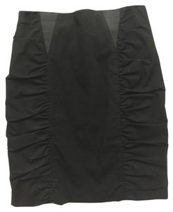 Nanette Lepore Work Mini Skirt Black