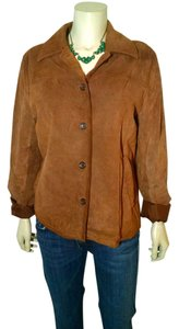 J.Crew J. Crew Leather Suede Brown Leather Jacket