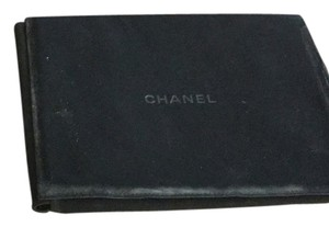 Chanel Lot Of 3x Chanel 9.25x7.25 Ultra Suede Snap Lock Jewelry Cases