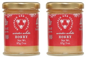 Savannah bee company Winter White Honey 2 @ 3 oz