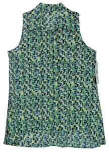 Notations Small Sleeveless Top Multi
