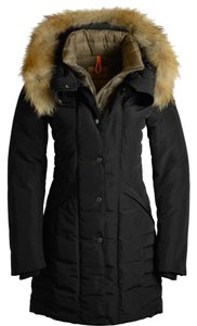 Parajumper Cold Weather Hood Fur Black Jacket