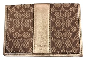 Coach Small flip wallet