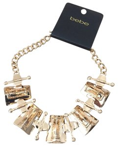 bebe Bebe Gold Necklace NWT