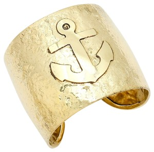 Other Gold Cuff Anchor Bracelet