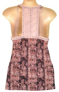Sparkle & Fade Urban Outfitters Studded Geo Print Top
