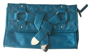 Chinese Laundry Turquoise Blue Clutch
