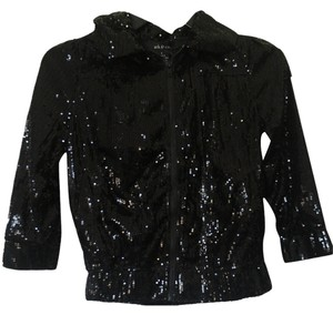 Ark & Co. Black Sequin Jacket