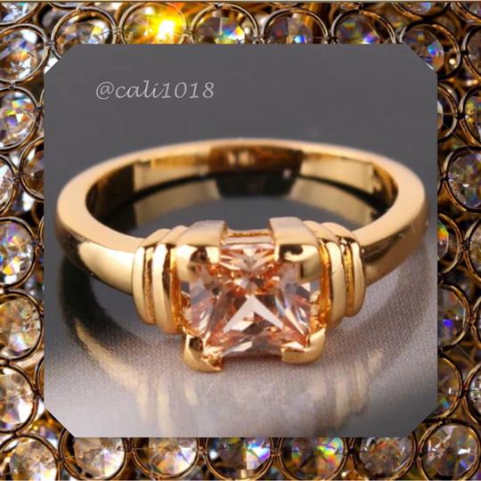 Other New Yellow Topaz February Birthstone & Yellow Gold Filled Ring 8, 9
