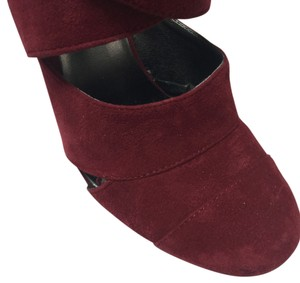Nine West New High Heels Work Burgundy red Platforms
