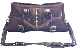 Versace Satchel in Brown