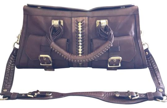 Preload https://img-static.tradesy.com/item/14840146/versace-brown-leather-satchel-0-1-540-540.jpg