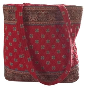 Maggie B. Tote in Red