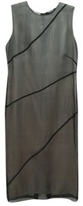 Emanuel Ungaro Silk Ungaro Evening Black Dress