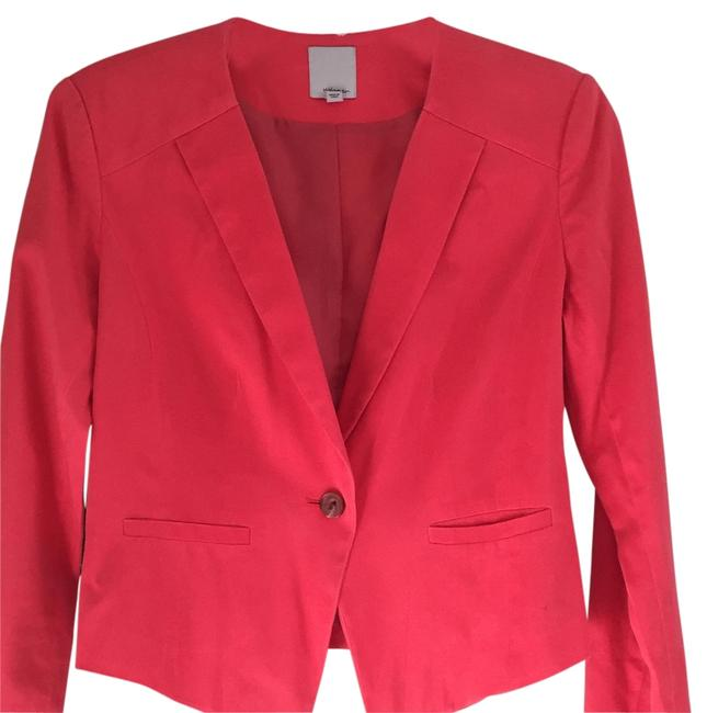 Preload https://item5.tradesy.com/images/halogen-coral-blazer-size-4-s-14841169-0-1.jpg?width=400&height=650