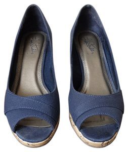 LifeStride Navy blue Wedges