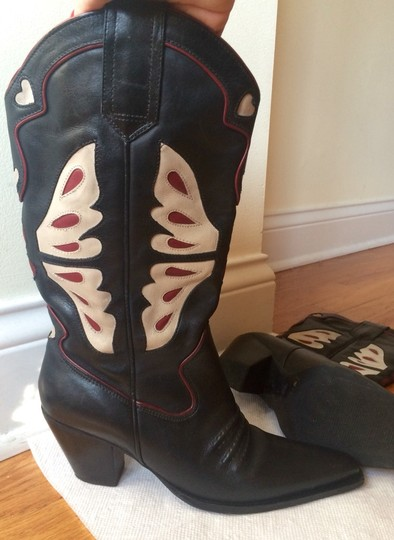 Nine West Black Multi Boots