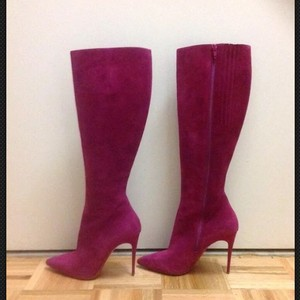 Christian Louboutin fusia pink Boots