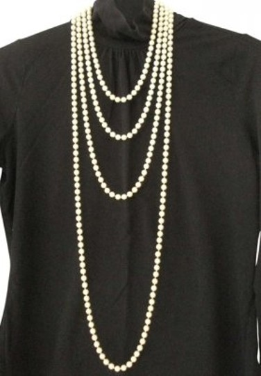 Preload https://img-static.tradesy.com/item/148415/lustrous-pearl-gatsby-look-long-strand-of-faux-necklace-0-0-540-540.jpg