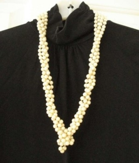 Unknown Gatsby-look Long Strand of Faux Pearls
