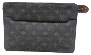 Louis Vuitton Alma Speedy Lv Monogram Brown Clutch